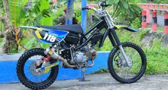 Gambar Modifikasi Rangka GTX Grasstrack Jupiter Z Bebek Modif Terbaru 2017 Trail Motorcycle, Scrambler, Custom Bikes, Motocross, Cars And Motorcycles, Motorbikes, Yamaha, Super Cars, Kawasaki Ninja