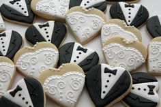 Bride and Groom Cookies | Cookie Connection