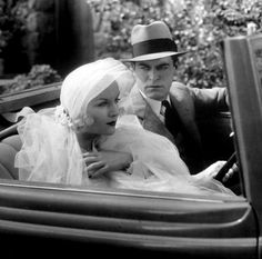 Carole Lombard and Chester Morris, The Gay Bride, Costume design by Dolly Tree, 1934.