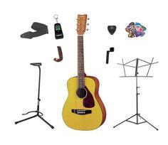 Yamaha FG JR1 3/4 Size Acoustic Guitar with Gig Bag, with Bonus LEGACY Brand 30 PC Accessory Kit http://pinterest.com/pin/164240717630430310/