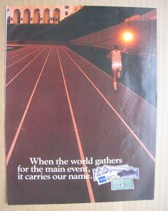 1984 American Express Ad Olympics in Los Angeles