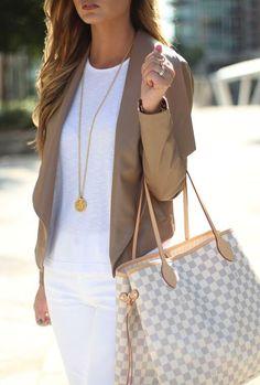 Camel + White