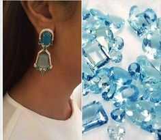 Own a pair of these stunning earrings created by ‪#‎LeMarquise‬ using aquamarine, the birthstone of March-born people,along with diamonds & emeralds set in white gold. For more information on Le Marquise designs, click here: https://www.facebook.com/Lemarquisebyjasmineandsambhav  ‪#‎BestCutDiamond‬ #LeMarquise ‪#‎LeMarquiseDiamond‬ ‪#‎DiamondJewelry‬ ‪#‎Jewellery‬ ‪#‎Emeralds‬ ‪#‎aquamarine‬
