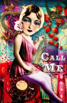 Call Me © Beth Todd 2016 - All Rights Reserved Created with 'Valentine Junque 2' from Tumble Fish Studio http://www.mischiefcircus.com/shop/product.php?productid=23504&cat=0&page=1