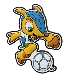 Make this amazing design-2014 Brazil Mascot Fuleco on your shirts,hoodies,cases and mugs.Unique Gift For Anyone.
