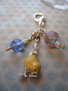 Easter time Chicken Little  Zipper Pull by WannaBRockstar on Etsy, $12.95