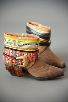 Reconstructed Boots | Must try this |FEATHER JUNKIE