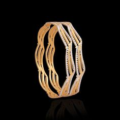 Ethnic & Pacheli Gold Bangle Designs Online - Zar Jewels