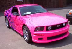pink mustang - New York Mustangs - Forums