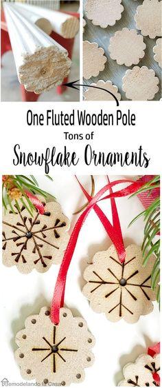 Snowflake Christmas Ornament.