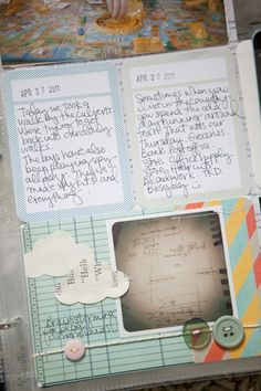 project life journaling