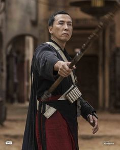 Probably one of the best characters in franchise. Chirrut