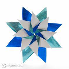 Origami Star by Maria Sinayskaya - Diagrams Included