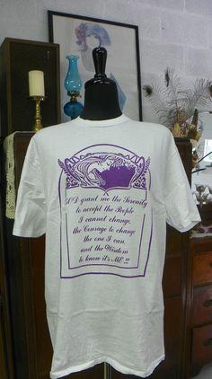 All Cotton Serenity tee. $18.00, via Etsy.