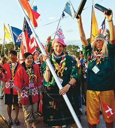 In 2015, more than 30,000 Scouts and leaders from 161 countries around the world will converge on Kirara-hama, Yamaguchi, Japan, for the 23r...