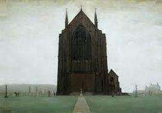 L. S. Lowry, St. Augustine's Church, 1924