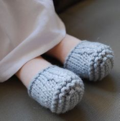 knit shoes for dollies pattern