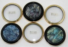 Milani Eyeshadow | Milani Cosmetics Constellation Gel Eye Liner Swatches And Review