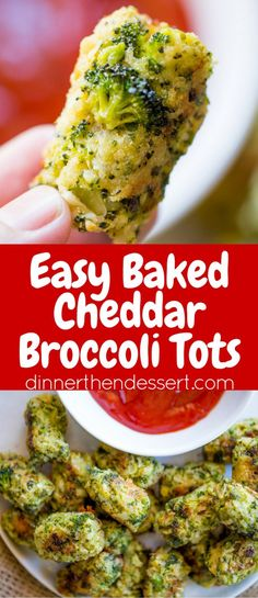 Baked Cheddar Broccoli Tots are a breeze to make, a huge hit with kids and full . Baked Cheddar Broccoli Tots are a breeze to make, a huge hit with kids and full of flavor that& help cut down on the carbs and fat of regular tater tots! Healthy Snacks, Healthy Eating, Healthy Recipes, Amazing Vegetarian Recipes, Veggie Dishes, Food Dishes, Side Dishes, Side Dish Recipes, Vegetable Recipes