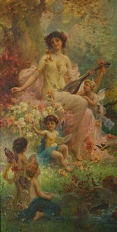 Anjos querubins