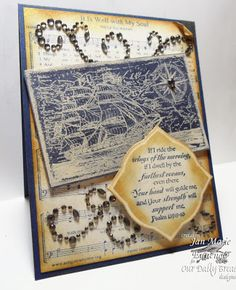 ODBDSLC177 Inspired by Song or Music Stamps - Our Daily Bread Designs It is Well with my Soul, Surging Sea