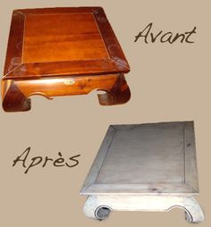 table basse opium relooking made in angel table basse opium vous avez patin un meuble. Black Bedroom Furniture Sets. Home Design Ideas