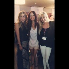Catt Sadler, Jacey Duprie and Jacqueline Rezak hanging out at Simply Stylist event in Chicago!  SOOOO HAPPY they came to Chicago!