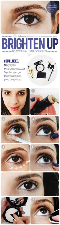 Under Eye Concealing Tutorial