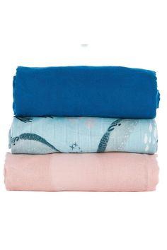 Tula Blanket Set - Narwhal