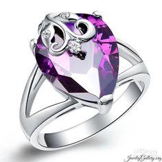 18k White Gold Plated Purple Gemstone Jewelry Ring.jpg