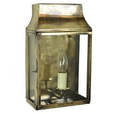 Strathmore small 1 light vintage outdoor wall lantern solid brass, & true replica of century French lanterns. Made in Britain to last a lifetime. Outdoor Wall Lantern, Outdoor Walls, Candle Lamp, Candle Sconces, Victorian Wall Lighting, Gas Lanterns, French Walls, Traditional Lighting, Exterior Lighting