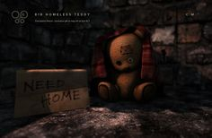 ***Homeless Teddy Exclusive Gift for the Gacha Show!*** | Flickr - Photo Sharing!