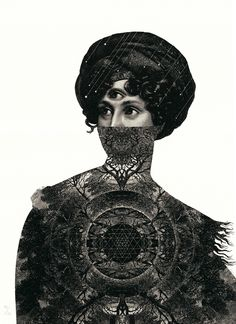 Limited Edition Screen-Print by talented Dan Hillier 'Centre' Avaliable to buy now on Print Club London's Online Gallery at £370