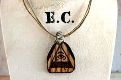All Seeing Eye Pendant - Handmade by Etinifni Creations