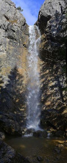 Google+Vodopád Červené piesky v Prosieckej doline