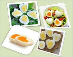 How to Make Heart Shaped Boiled Egg #stepbystep