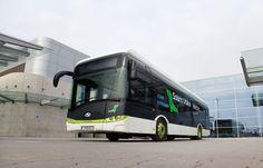 Solaris Urbino Transport Bus Urban Electric