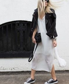 The Fashion Magpie // Slip Dress.