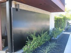 Modern Lofts on 20th and B - Horizontal Sliding Door by iamonhold, via Flickr