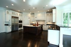 @Dura Supreme Cabinetry kitchen designed by Scott Perkins of NVS