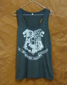 Tank Top Sale clearance Cute clothing Hogwarts school Harry Potter shirt S M L XL sleeveless top racer back/ singlet/ t shirt/ sport clothes École Harry Potter, Harry Potter Tank Top, Harry Potter Shirts, Harry Potter Outfits, Tank Top Shirt, T Shirt, Tank Tops, Black Quotes, Living At Home