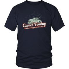Camel Towing - funny men's shirt