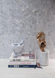 CALACATTA HEXAGONS | Tile Warehouse. for shower cavity