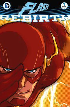 THE_FLASH_REBIRTH_1Spinning directamente de los acontecimientos épicos de DC UNIVERSE: RENACIMIENTO # 1, el hombre más rápido del mundo se encuentra en el centro de un Universo DC en un cruce de caminos.
