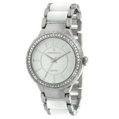 Peugeot Women's 7049WT Silver-Tone Swarovski Crystal Accented Bracelet Watch Peugeot. $59.50. Save 30% Off!