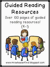 Mrs. Wheeler's First Grade Tidbits: How I Run Guided Reading