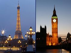 Paris vs London