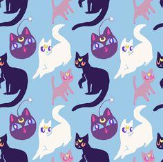 terribledraw.tumblr.com, sailor moon cats
