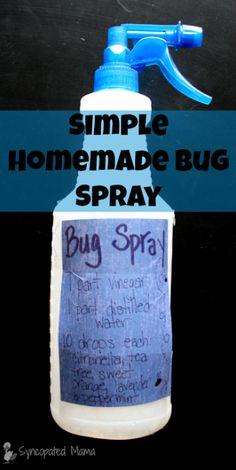 Simple Homemade Bug Spray