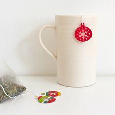 Pretty DIY Tea Bags - Cute Stocking Stuffer Gift Idea for Tea Lovers